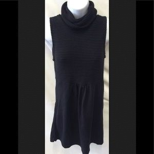 ZARA Cowl Neck Fitted Ruched Tunic Dress